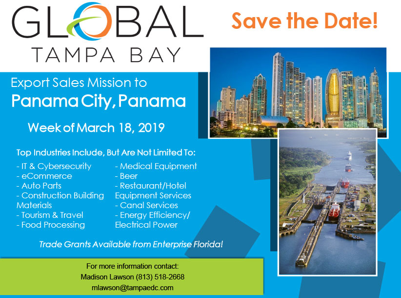 Panama Trade Mission Flyer