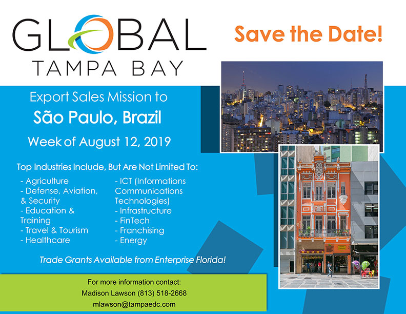 Brazil Trade Mission Save the Date